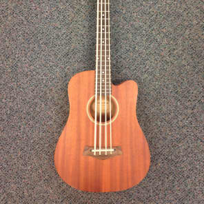 """Gold Tone M-Bass Micro 23"""" Scale Acoustic/Electric Bass Natural"""
