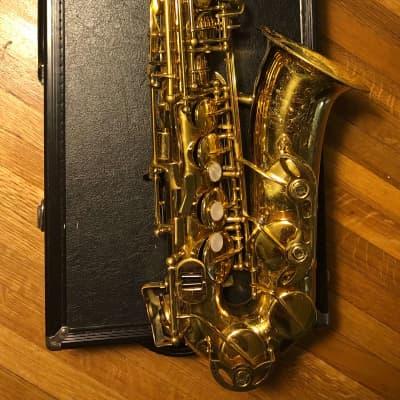 Used King LE300 Alto Saxophone