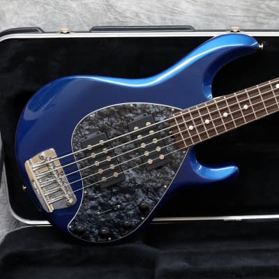 2006 Music Man Stingray 5 HH - Blue Pearl - OHSC for sale