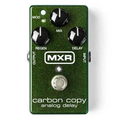 MXR M169 Carbon Copy Analog Delay Guitar Effects Pedal for sale
