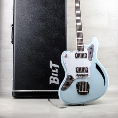 Bilt S.S. Zaftig 2016 Sonic Blue Custom Order LH Lefty Left-Handed OHSC for sale