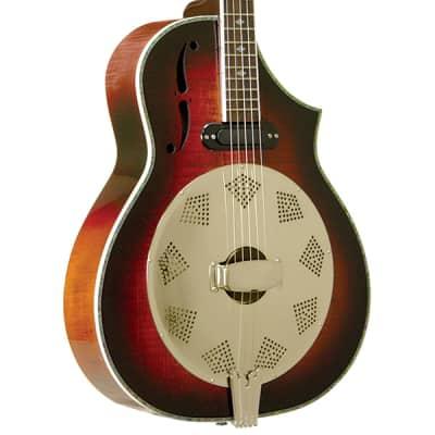 Gold Tone DOJO DLX Acoustic Body Deluxe Resonator 5-String Banjo with Pickup