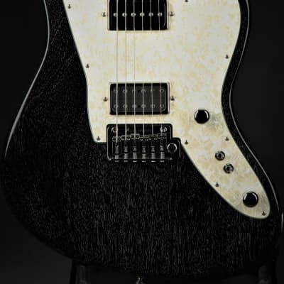 Tom Anderson Raven Superbird - Black w/White Dog Hair for sale