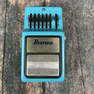 Used Ibanez 1981 GE-9 Graphic EQ Pedal- Made In Japan