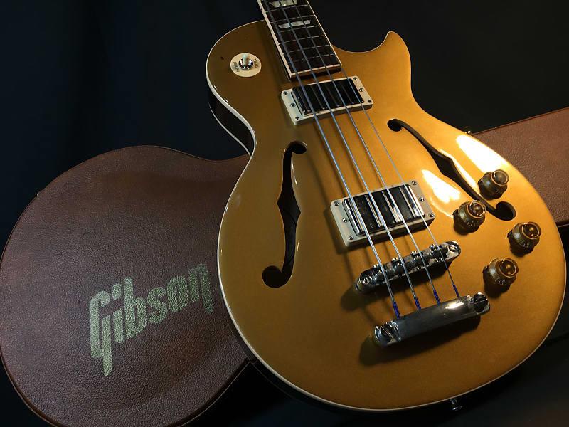 Hollow Bass Guitar : gibson es les paul semi hollow electric bass guitar w hard reverb ~ Russianpoet.info Haus und Dekorationen