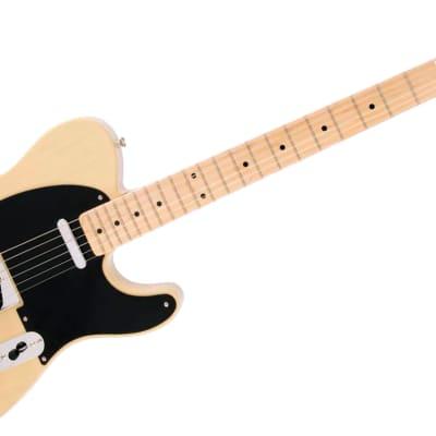 Fender Limited Edition American Vintage '52 Telecaster Korina Electric Guitar, Maple Fingerboard, Blonde for sale