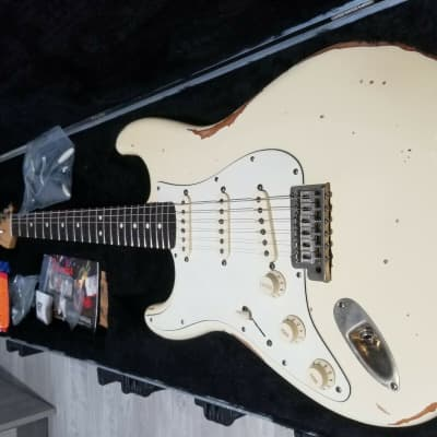 Fender Standard Stratocaster Left-Handed 2012 Cream USA for sale