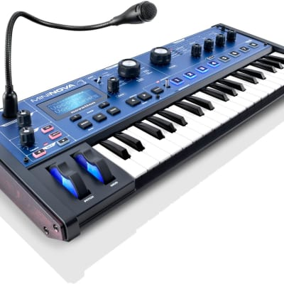New Novation MiniNova Analog Modeling Synthesizer 37 Mini Key Keyboard