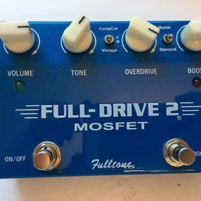 Fulltone Full Drive 2 V1 Mosfet Overdrive / Boost Booster Guitar Effect Pedal