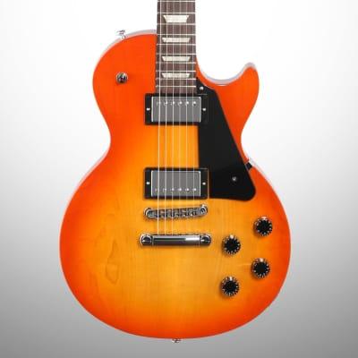 Gibson Les Paul Studio Electric Guitar (with Soft Case), Tangerine Burst