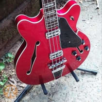 Fender Modern Player Coronado Bass 2010s Candy Apple Red image