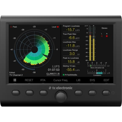 TC Electronic Clarity M Audio Meter
