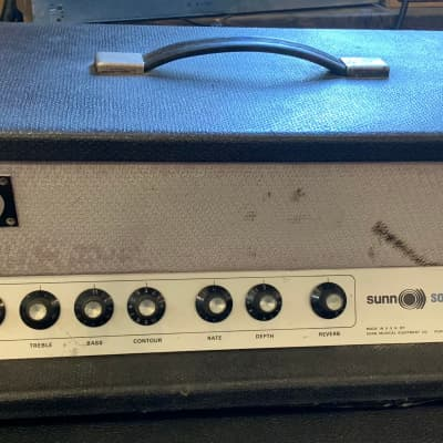 Sunn Solarus 60-Watt Guitar Amp Head Late 60's for sale