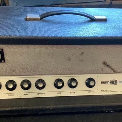 Sunn Solarus 60-Watt Guitar Amp Head Late 60's for sale
