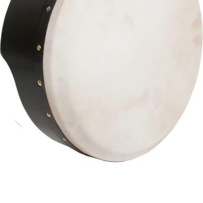 Roosebeck Tunable Ply Bodhran Drum 15''x5''   Black