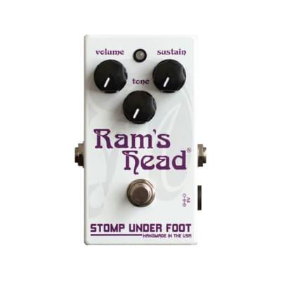 Stomp Under Foot Ram's Head (Violet Version) Fuzz Pedal