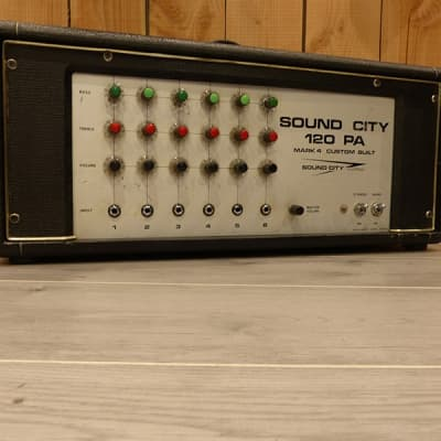 Sound City Sound City 120-PA / 120w / 1976 for sale