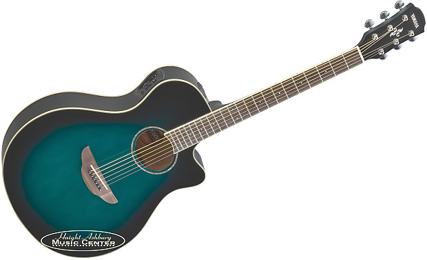 yamaha all new apx600 obb thinline acoustic electric guitar reverb. Black Bedroom Furniture Sets. Home Design Ideas