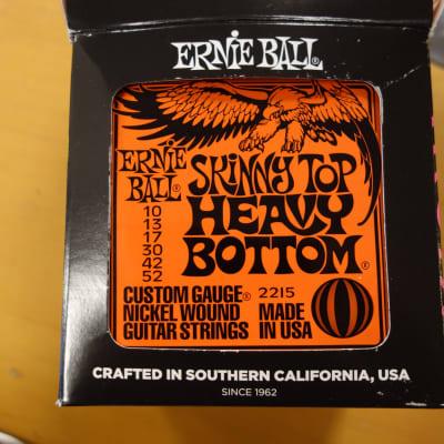 Ernie Ball 2215 Skinny Top Heavey Bottom Nickel Wound 10-52 Full Box 12 sets