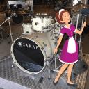 Sakae Almighty Maple 5pc Shell Pack w/Chrome Hardware