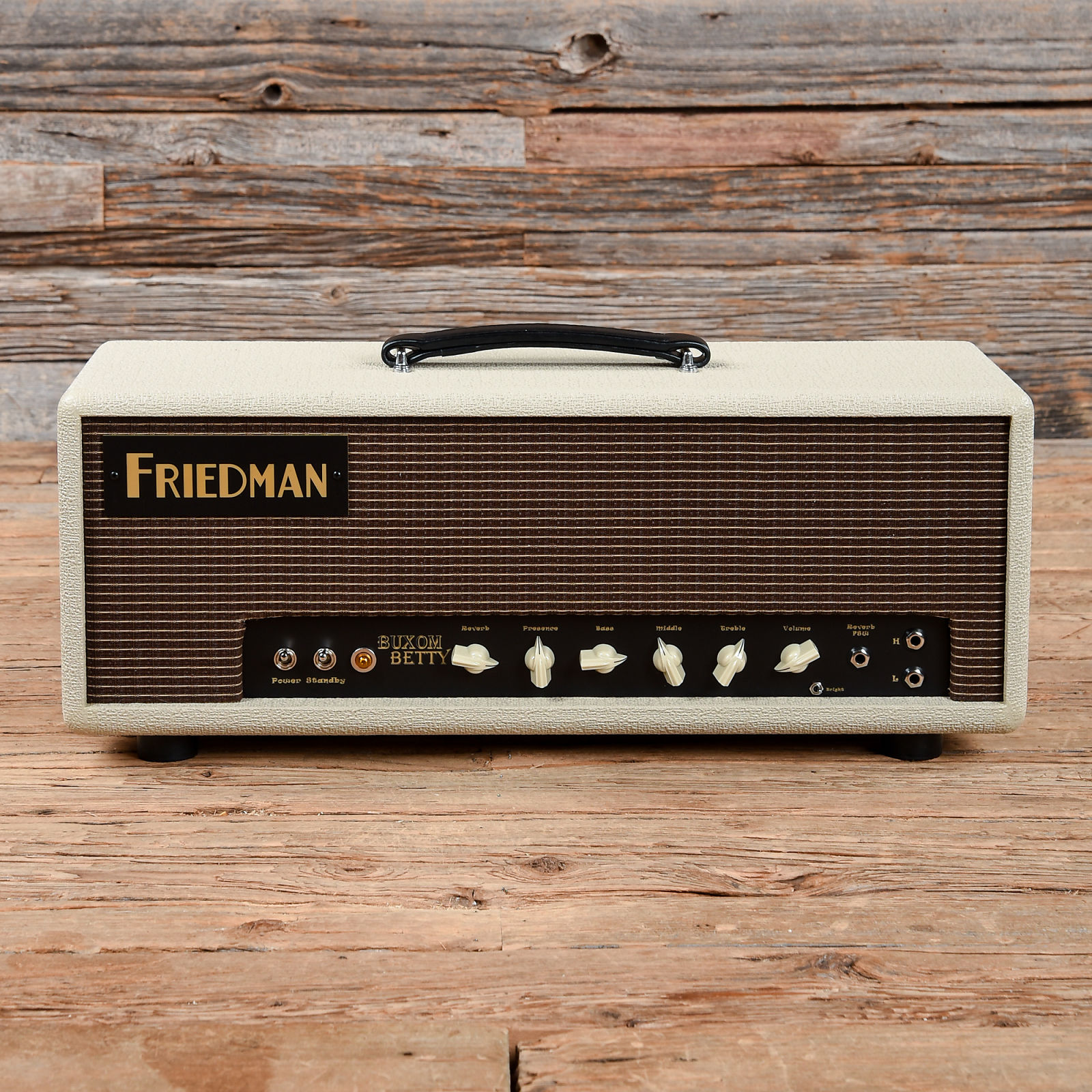 Friedman Buxom Betty 50w Head W Footswitch Used S117 20w Power Tube Amplifier With El34