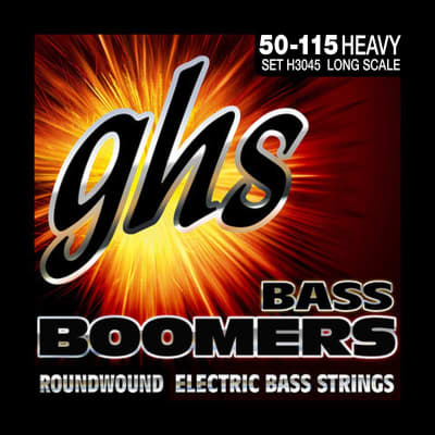 GHS Bass Boomers H3045 Heavy Set 2010s