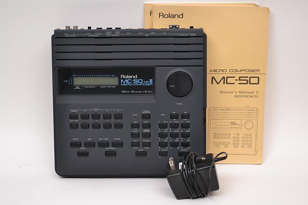 Roland mc500 mkii manual -.