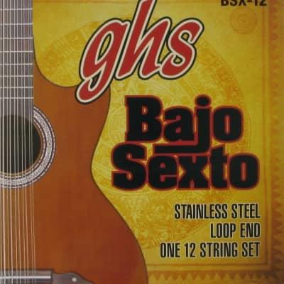 GHS Bajo Sexto String Set