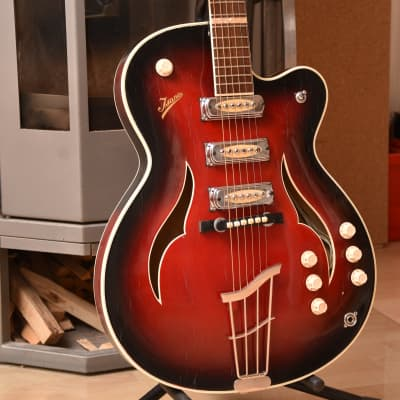 Isana Archtop - Franz Sander 1962 German Vintage Thinline guitar Gitarre for sale