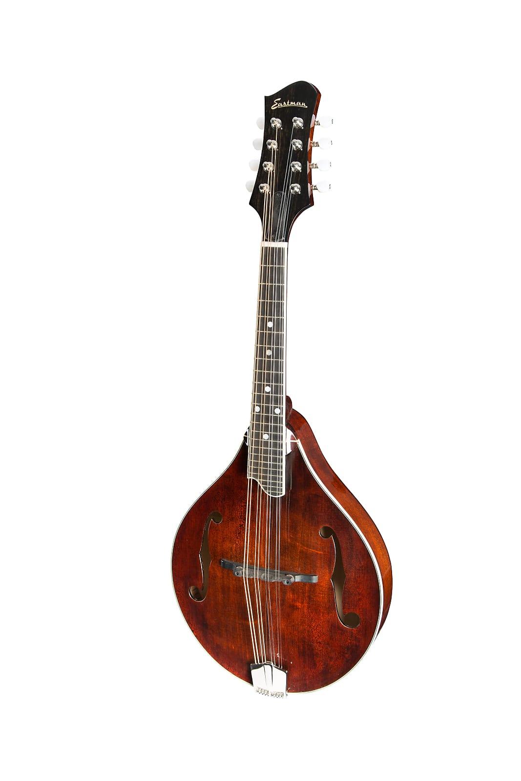 Eastman MD505 A-Style Mandolin Classic Gloss w/ Hardshell Case