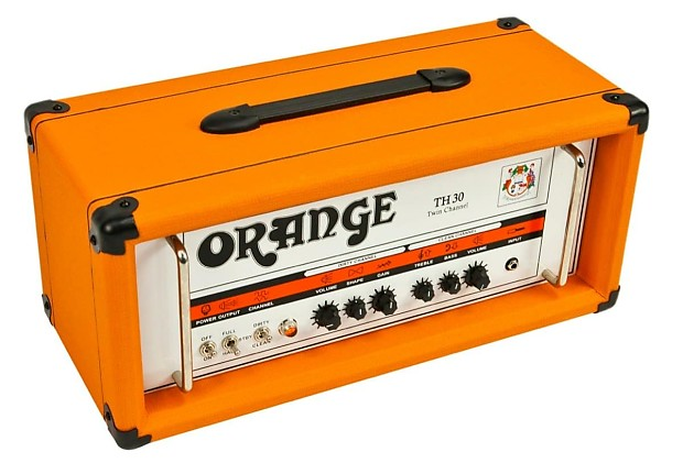 orange th30h guitar amplifier head 30 watts zzounds reverb. Black Bedroom Furniture Sets. Home Design Ideas