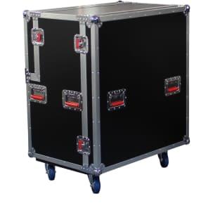 Gator G-TOUR-CAB412 Rolling ATA 4x12 Guitar Speaker Cab Road Case w/ Casters