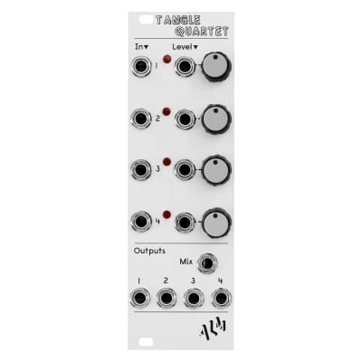 ALM Busy Circuits Tangle Quartet: Quad Linear VCA and Mixer