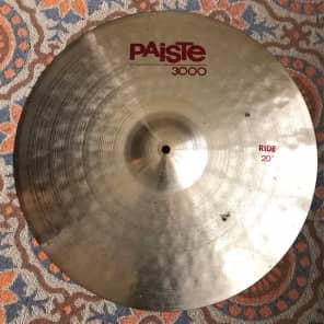"""Paiste 20"""" 3000 Ride Cymbal"""