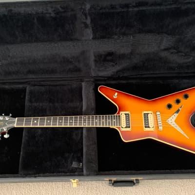 USA Dean Time Capsule ML guitar 2001 Brasiliaburst signed by Dean for sale