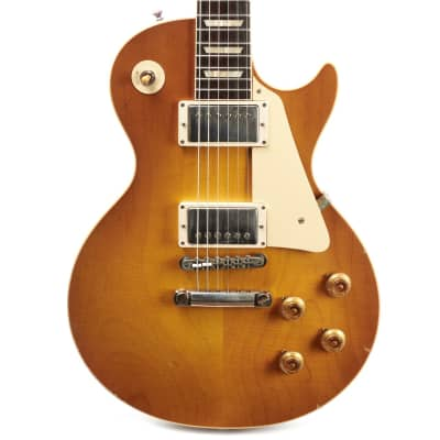 Gibson Custom Murphy Lab 1958 Les Paul Standard Reissue Light Aged - Lemon Burst