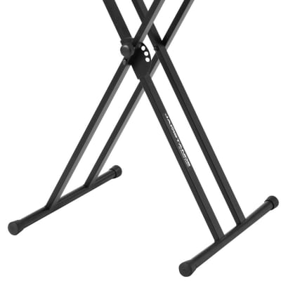 Ultimate Support JS-502D Double-Braced X-Style Keyboard Stand