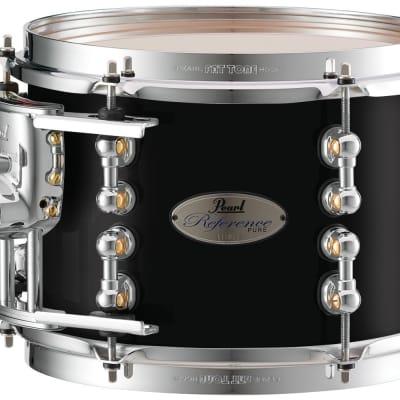"Pearl Music City Custom 14""x10"" Reference Pure Series Tom Drum RFP1410T - Piano Black"