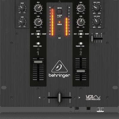Behringer NOX101 2-channel DJ Mixer NOX 101