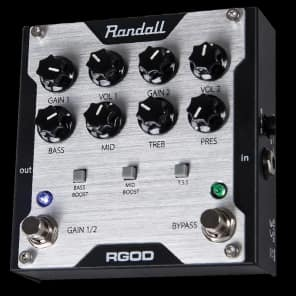 Randall Amplification RGOD 2 Channel FET Guitar Preamp Pedal for sale
