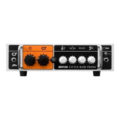 Orange Little Bass Thing 500W Class D Bass Head Amp - Ships FREE Lower 48 States!