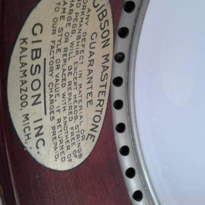 Gibson Mastertone TB-3 Tenor Banjo 1925  Ball bearing tone ring. Rare! for sale