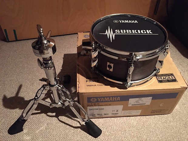 yamaha skrm 100 subkick sub bass transducer microphone reverb. Black Bedroom Furniture Sets. Home Design Ideas