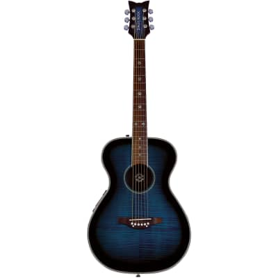 Daisy Rock DR6221 Pixie Acoustic Electric Guitar, Blueberry Burst for sale