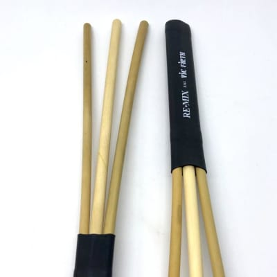 Vic Firth RM4 REMIX Brushes - Rattan