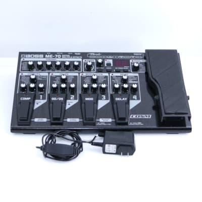 Boss ME-70 Guitar Multi-Effects Pedal & Power Supply P-06665 image