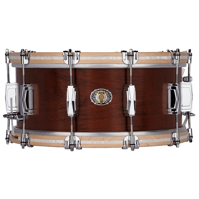 Ludwig 110th Anniversary Legacy Mahogany Van Buren 6.5x14 Snare Drum