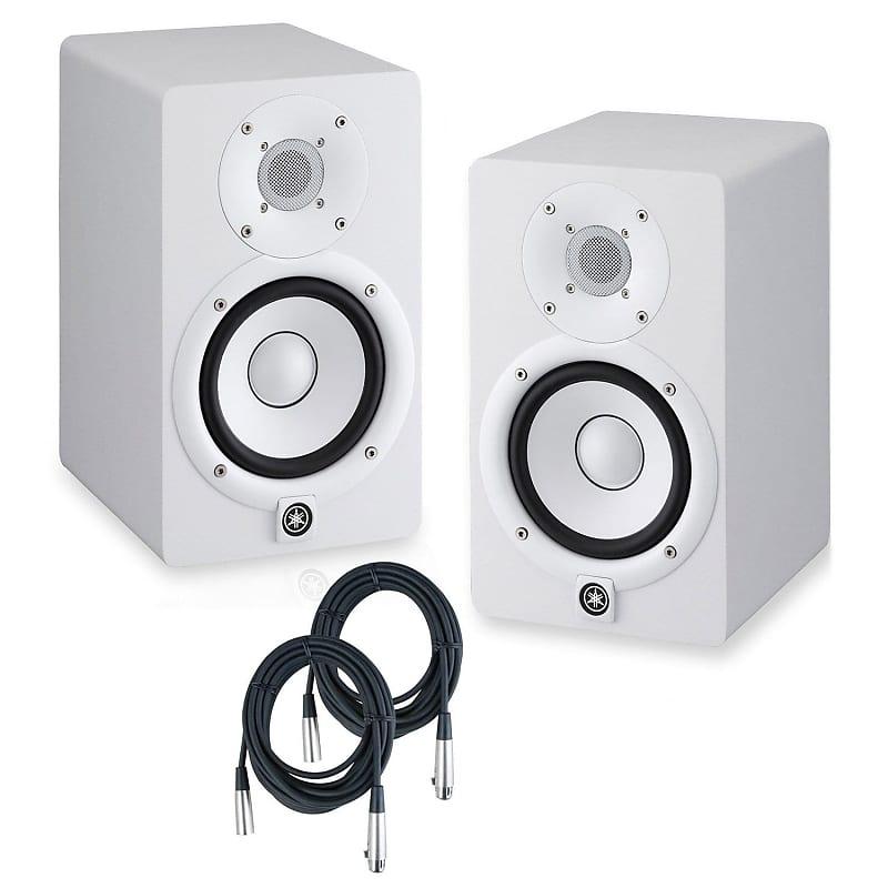 Studio Monitor Yamaha : yamaha hs8 powered studio monitors pair white w strukture reverb ~ Hamham.info Haus und Dekorationen