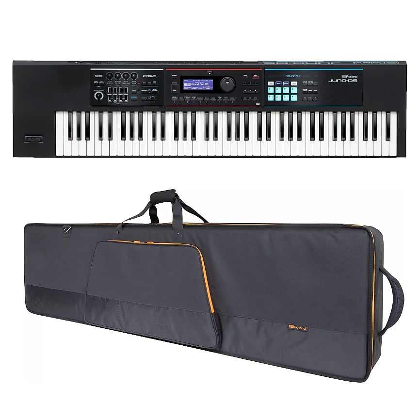 Roland JUNO-DS76 76-Note Weighted-Action Keyboard w/ CBG76 Gig Bag
