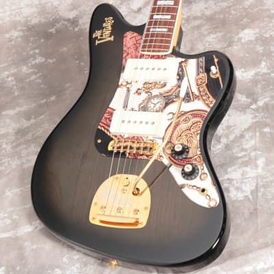 Fender JM-165VR Seethrough Black Sunburst MOD for sale